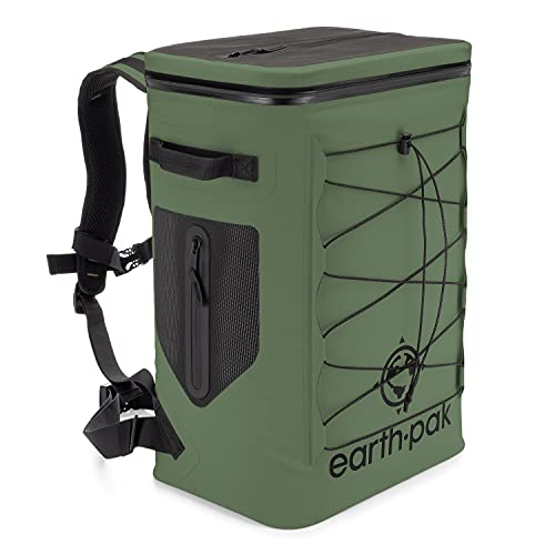 Insulated Backpack Cooler Holds 35 Cans for 72 Hours - Perfect Lunch or Drink...