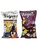 Patatas fritas sabor pollo asado - Patatas fritas sabor jamon - Patatas Tuyas