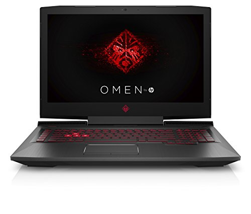 "HP OMEN 17-an112ns - Portátil Gaming de 17.3"" FullHD (Intel Core i7-8750H, 16GB RAM, 1TB HDD + 512GB SSD, Nvidia GeForce GTX 1050 Ti-4GB, FreeDos) Color Negro - Teclado QWERTY Español"
