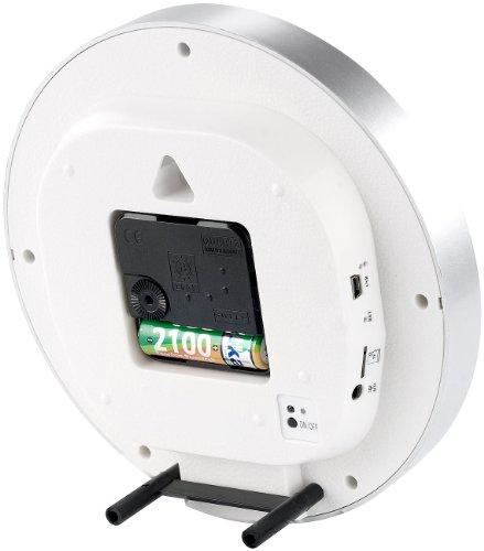 OctaCam Stilvolle Tisch- oder Wanduhr mit integrierter Videokamera