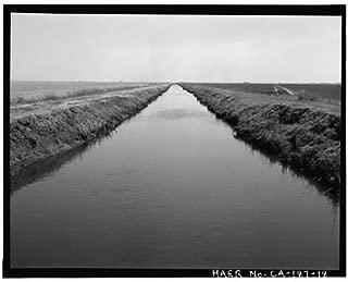 HistoricalFindings Photo: Reclamation District 1000,Highway No. 99,Sacramento,California,CA,HABS,17