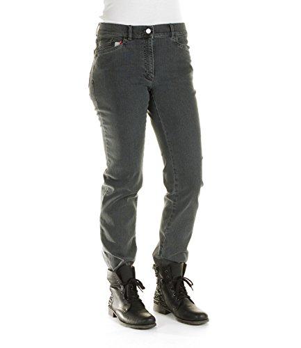 Zerres - Damen Jeans Hose Tina (dunkelgrau) - Größe 36