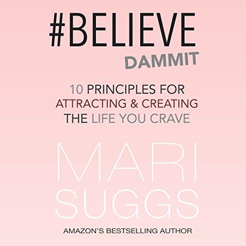 #Believe Dammit audiobook cover art