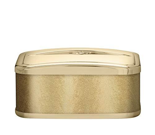 PLATEX 750051830 Conservateur A Glace Bague Doree-SOLFETO Gold, Plastique-Tissu, 22cmX16cmX9cm