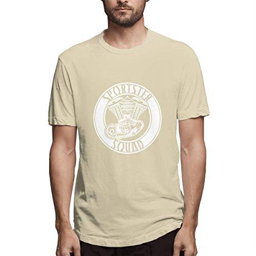 Sportster Squad Classic Herren Fashion Gym Kurzarm T-Shirts XXL