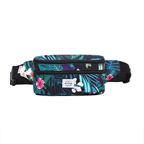 521s Precioso Bolso de Moda para la Cintura | 20x6x11 cm | Amazon Jungles