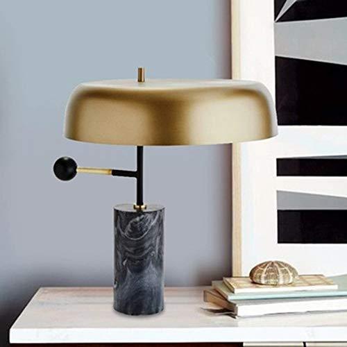 DKEE Postmodern Nordic Creative Hardware Mármol Sala De Estar Arte Cama Dormitorio Estudio Lámpara De Escritorio