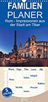 Rom - Impressionen aus der Stadt am Tiber - Familienplaner hoch (Wandkalender 2022 , 21 cm x 45 cm, hoch): Fotografische Impressionen aus der ewigen Stadt am Tiber (Monatskalender, 14 Seiten )
