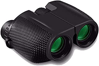 DEYINVI 10x25 HD High Power Binoculars for Adults, Fogproof&Waterproof, Compact Folding Binoculars for Bird Watching Hunti...
