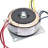 SODIAL Trasformatore Dual AC 28V 12V Singolo 12V 200W per Scheda Tono Amplificatore Preamplificatore Usata