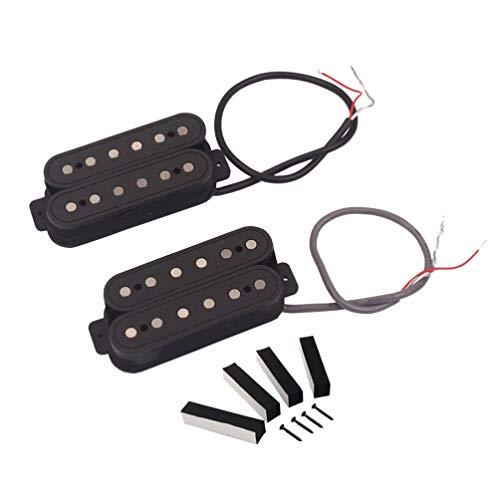 EXCEART Guitarra Humbucker Pickup Kits 6 Cuerdas Guitarra Eléctrica Guitarra Y Pedal para Jazz Bass Guitar