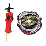 KESOTO Juguete de Peonza con Lanzador Rapidity 4D Burst - 125 01: Dead Hades 11Turn
