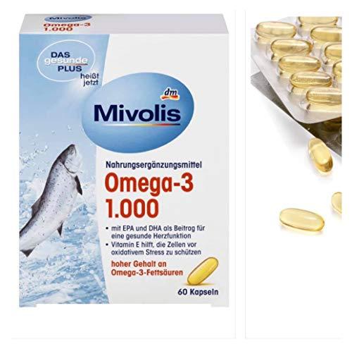 DAS gesunde PLUS Omega-3 1000 mg Kapseln, 60 St