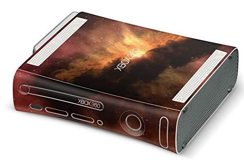Skins4u Design modding Aufkleber Vinyl Skin Klebe Folie Skins Schutzfolie für Xbox 360 old Solar Storm