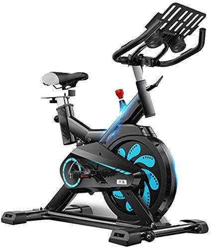 LKK-KK Bicicleta de ejercicio de ciclismo indoor,manillar ajustable y asiento,inteligente App ordenador lee Calorías velocidad Distancia Tiempo Sensores del ritmo cardíaco,bicicleta de Exercise for us