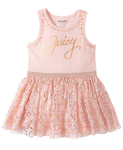 Juicy Couture Baby Girls' Dress, Pink/Print, 12M
