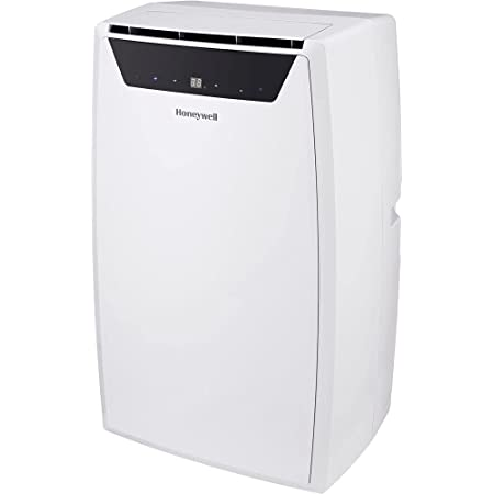 Honeywell Classic Portable Air Conditioner with Dehumidifier & Fan, Cools Rooms Up to 500 Sq. Ft. with Drain Pan & Insulation Tape, (White) MN1CFSWW8, 29.400