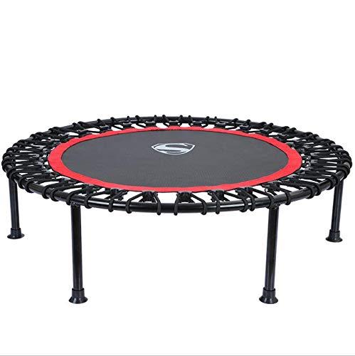 WLWLEO 40 inch Rebounder trampoline Super Ruhe Elastisch touw stijl trampoline afdekking voor volwassenen Upports kinderen tot 225 kg