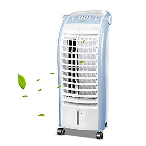 WENZHEN Refrigeradores evaporativos 4 en 1 Acondicionador de Aire, Calentador de Ventilador, purificador de Aire y humidificador con Enfriador de Aire de Control Remoto