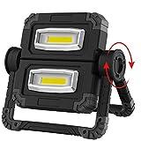 RUNACC LED Luz de trabajo Plegable Foco Led Bateria Recargable Portátil Luz de inundación Luz...