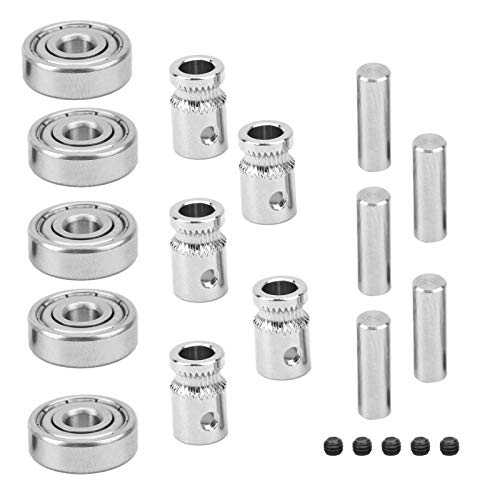 625ZZ Bearings, Deep Groove Ball Bearing Kit, Mk3/MK2.5 Replacement Accessory, for Prusa i3 MMU2 3D Printers