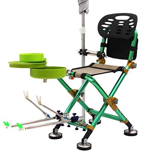 HDS Portable Sillas Lune Chaise Pêche Camping Chaise Tabouret Chaise Chaise étendue Stoel jardin Ultraléger A Chair Accueil Meubles (Color : B)