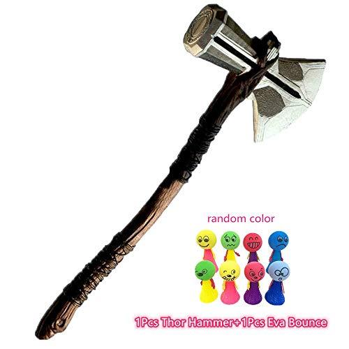 Lonme Martillo de Hacha de Thor Cosplay Prop 72cm Thor's Axe