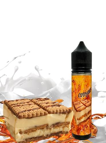 E-Liquid COULANT CHOCOLATE BLANCO de TIGERFLOYD- Sin Nicotina - 60ml formato TPD - 0MG Nicotina - E-Liquido para Cigarrillos Electronicos - E Liquidos para Vaper