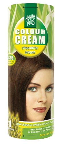 Henna Plus Colour Cream 5.35 Chocolade Bruin, 60ml