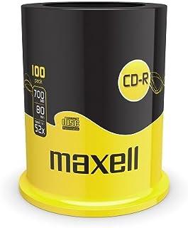 Maxell CD-R 80XL 52x SCD-RW vírgenes, pindle 700MB 100 piezas