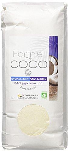 COMPTOIRS ET COMPAGNIES | Farine De Noix De Coco Bio | Commerce Equitable | 1Kg