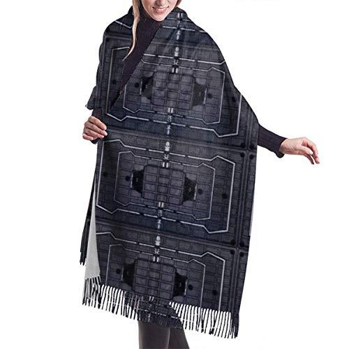 Rainbow Frost Six Siege Cashmere Scarf for Women Men Lightweight Unisex Spring Soft Winter Scarves Fringe Shawl Wrap