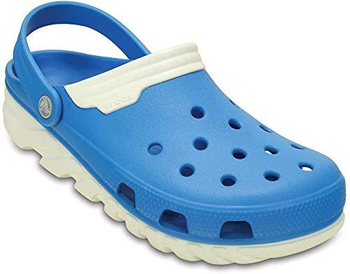 Crocs Duet Sport max, Unisex-Erwachsene Clogs, Blau (Ocean/White 49Y), 37/38 EU