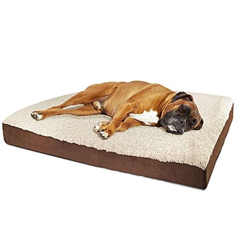 Haustierbett Haustier Hund Bett Sofa Big Hundebett für kleine mittelgroße Hundematten Tischliege Katze Chihuahua Welpen Bett Kennel Katze Haustier Haus Supplies ( Color : White , Size : S51 38 7CM )