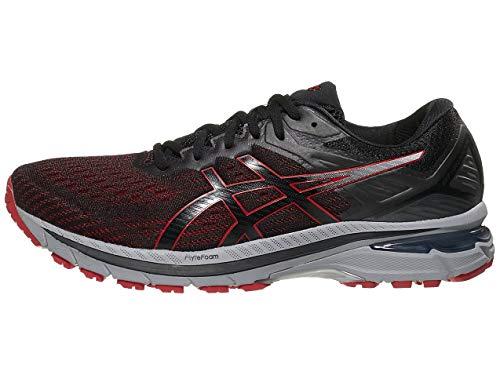 ASICS Men's GT-2000 9 Running Shoes, 9M, Black/Classic RED