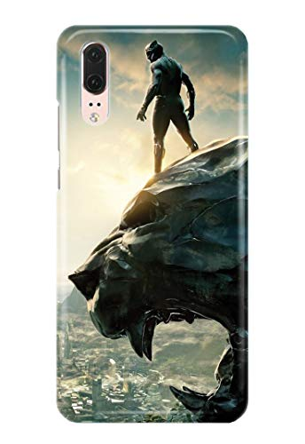 Hülle Me Up Handy Hülle für Huawei P20 Black Panther T'Challa Superhero Marvel Comics 11 Designs