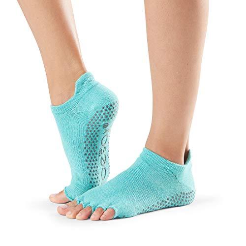 ToeSox Half Toe Low Rise Aqua Socken, S