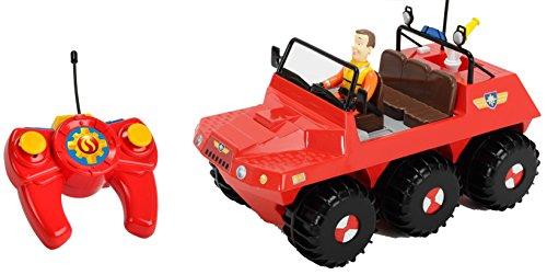 RC Auto kaufen Feuerwehr Bild: Dickie Toys 203099620 - RC Feuerwehrmann Sam Hydrus, funkferngesteuert zu Wasser und zu Land, 30 cm*