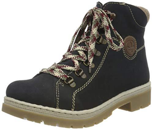Rieker Damen Y9402 Mode-Stiefel, Pazifik Mogano Wood, 41 EU