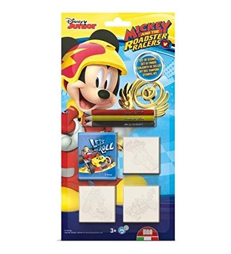 Multiprint Blister 3 Sellos para Niños Disney Mickey Topolino, 100% Made in...