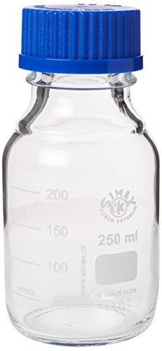 250ML BOROSILICATE GLASLABOR REAGENZFLASCHE SIMAX (DURAN PYREX EQUIVALENT)