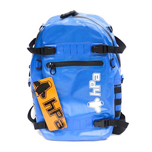 HPA (PECHE) INFLADRY 25 - Sac a Dos 25 litres Bleu - 100% Étanche, Dimensions 50x28x18cm