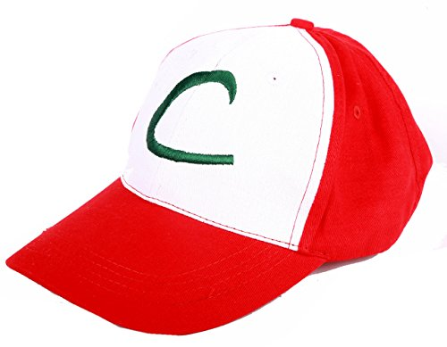 Pokemon Ash Ketchum Cosplay Hat Costume