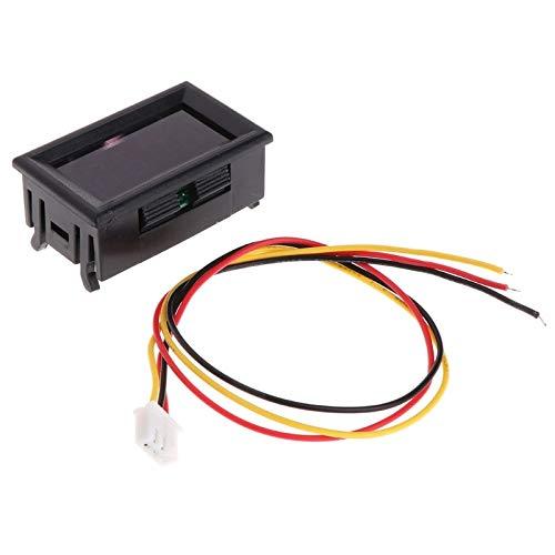 LIXUDECO Indicador de tacómetro 2 en 1 LED tacómetro Digital Medidor de RPM del voltímetro for Auto Motor Velocidad de rotación