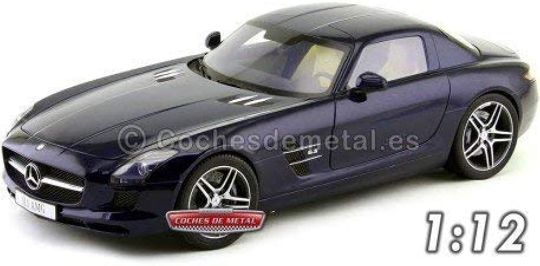 presentando toda la última moda de la calle 2009 Mercedes-Benz SLS AMG Gullwing Daytona Daytona Daytona azul 1 12 Premium ClassiXXs 10601  descuentos y mas