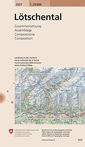 2527 Lötschental: Zusammensetzung (Landeskarte 1:25 000 Zusammensetzungen)