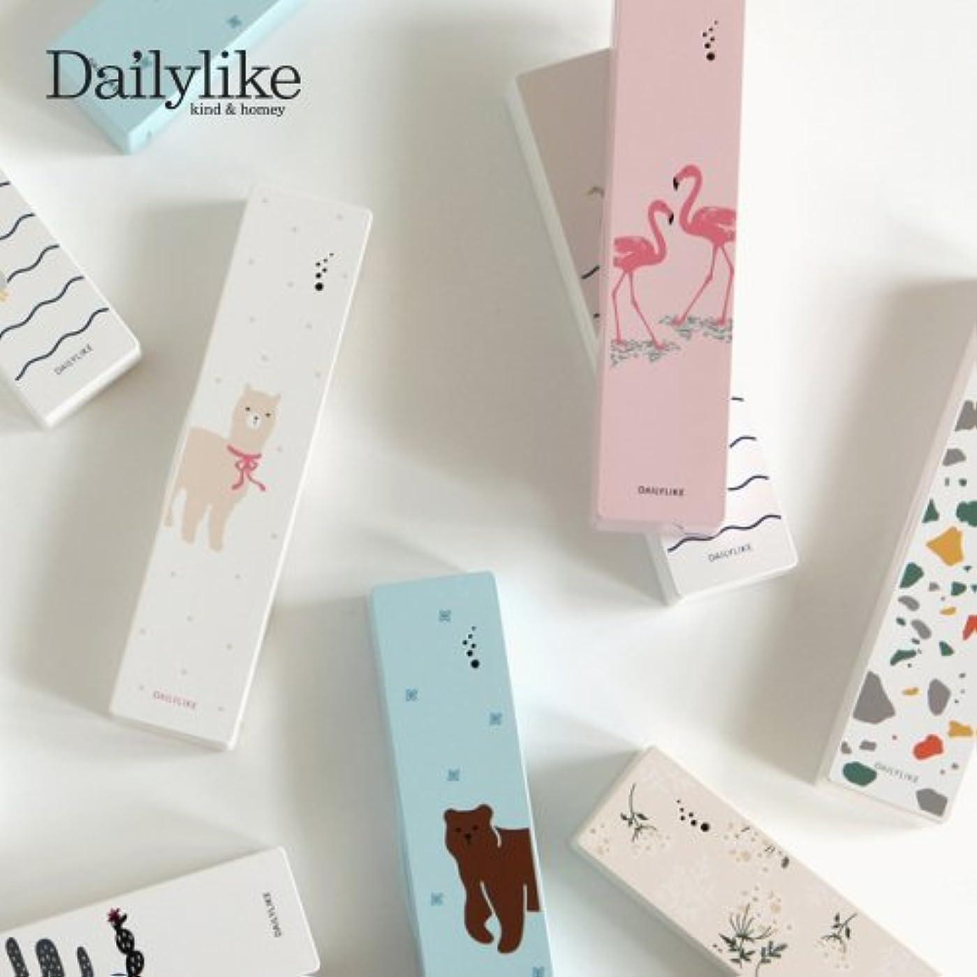 レッスン若い実験的【Dailylike】携帯用歯ブラシ除菌器(Portable Toothbrush Sterilizer) (Lace flower)