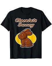Diseño de chocolate de Pascua - Conejo de chocolate Camiseta