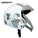 SCOTT スコット レディース ジュニア ヘルメット スキー スノーボード レーシング (Mサイズ)