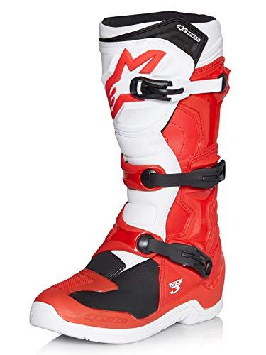 Alpinestars Motocross-Stiefel Tech 3 Rot Gr. 47